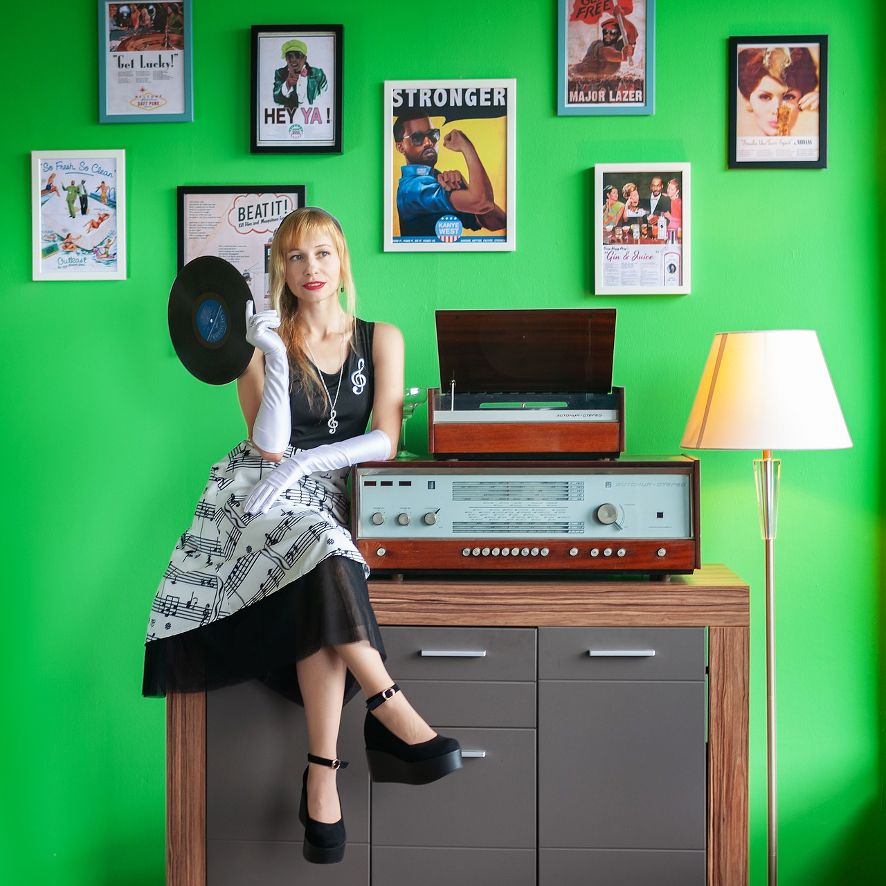 Music Vinyl Records Record Player